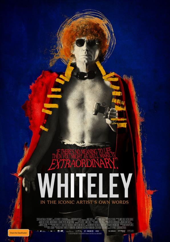 David Preston Artist Studio, brett whiteley film promo poster